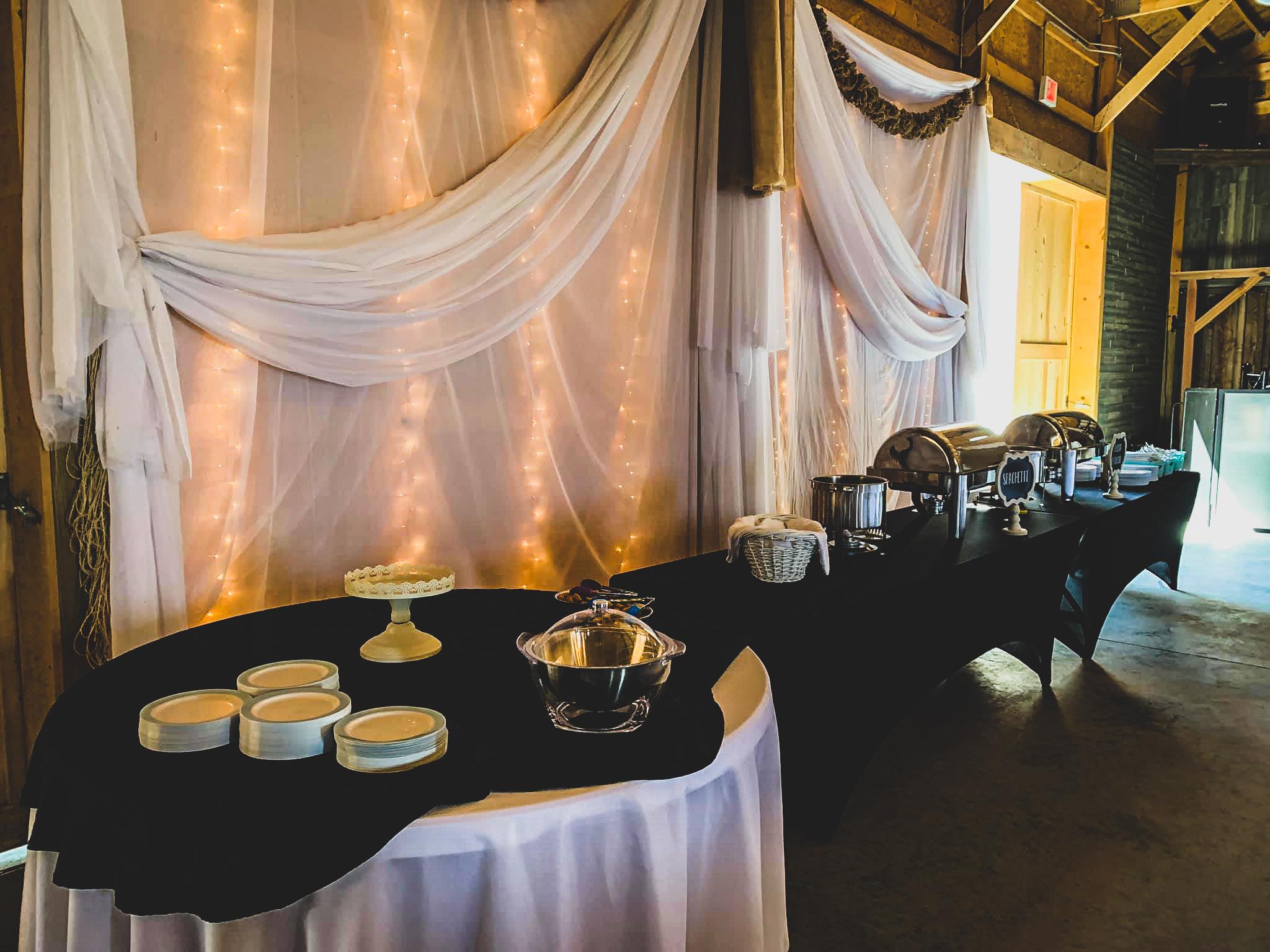 Caterer Set Up