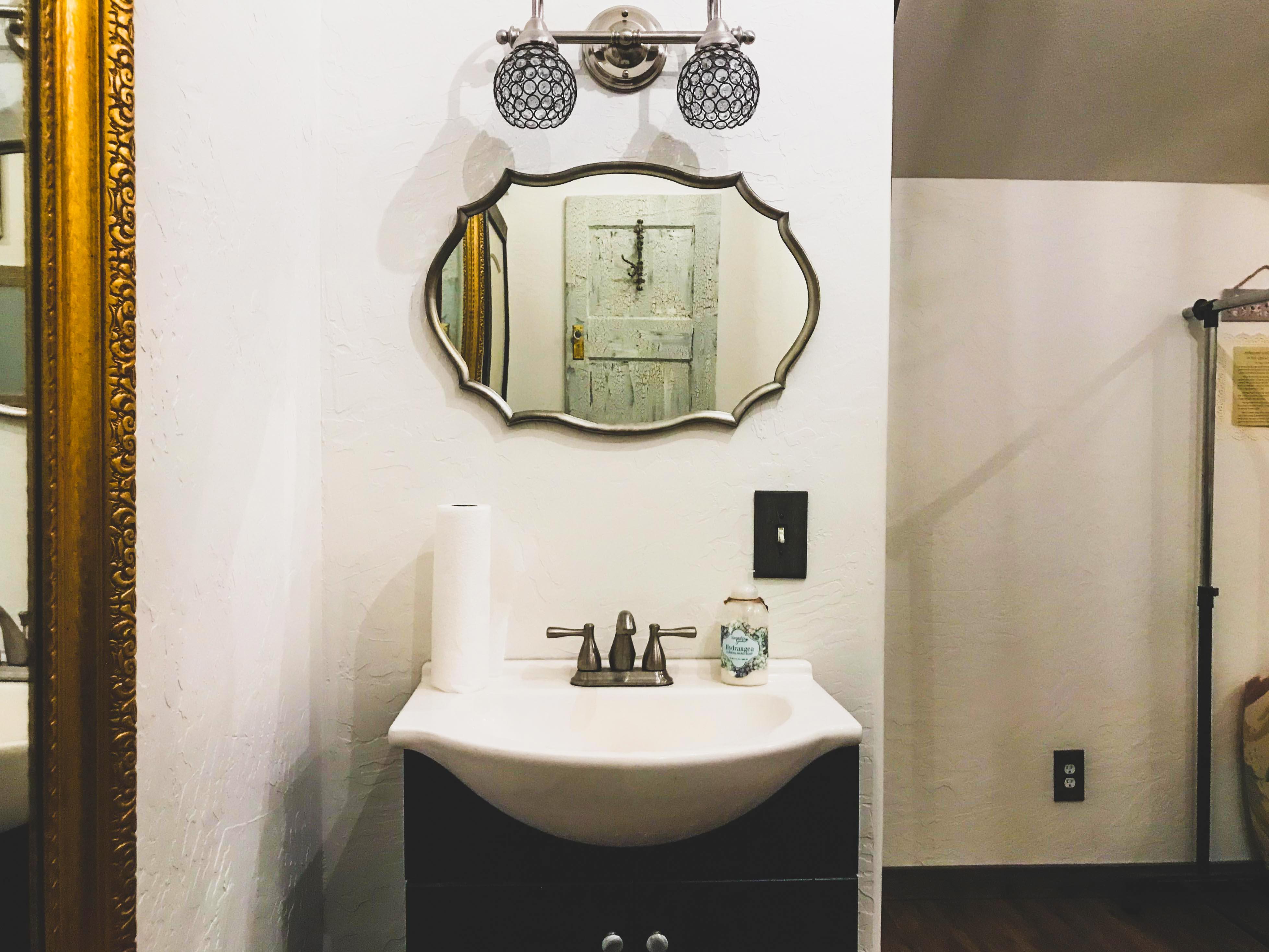Ladies Room and Mirror
