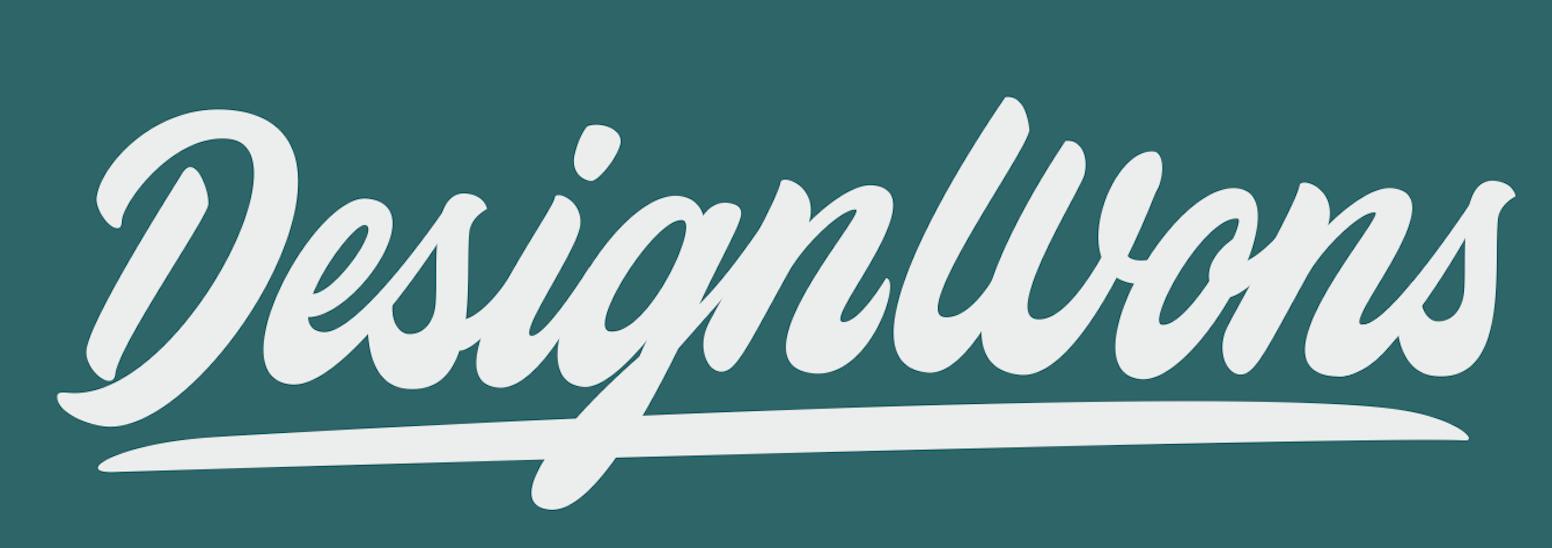 DesignWons white logo