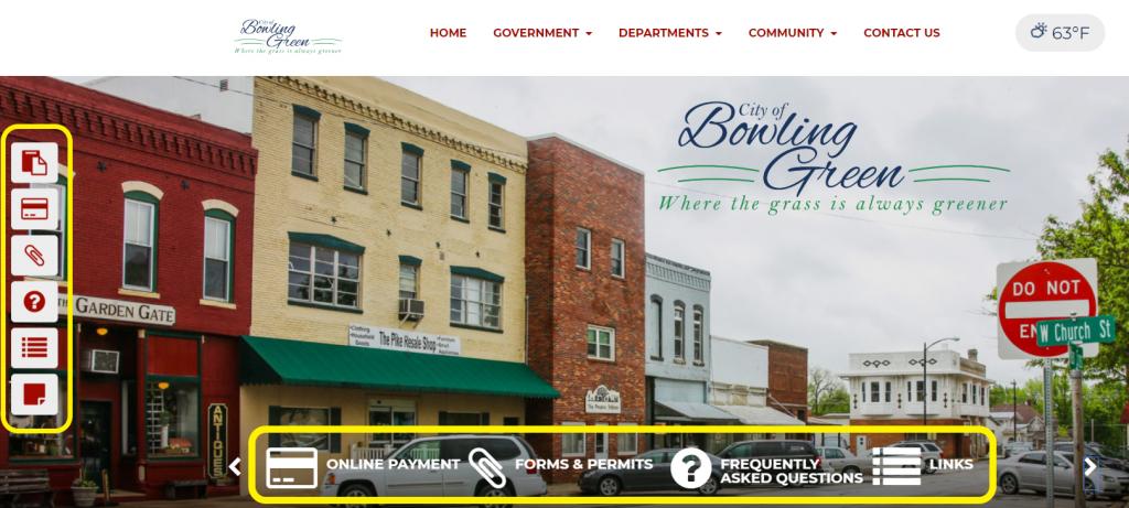 Municipal Website