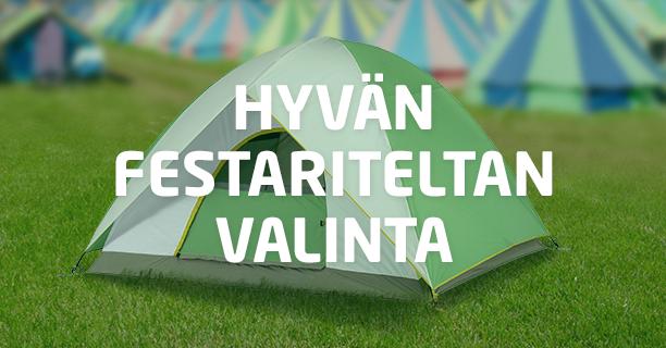 Valitse oikea teltta festareille