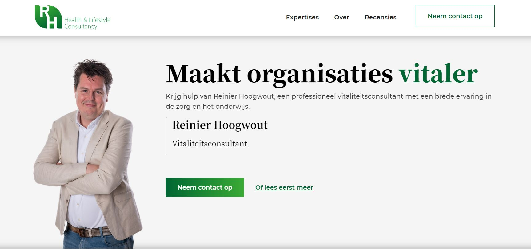 Reinier Hoogwout Consultancy