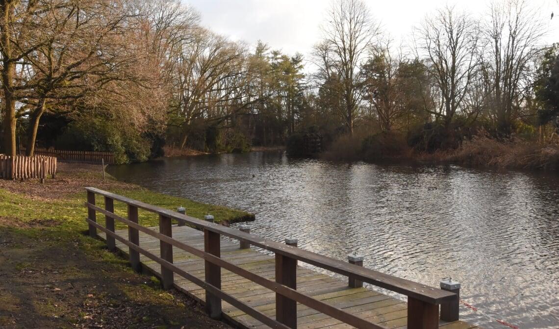 Pootje baden in de vijver van park Kienehoef?