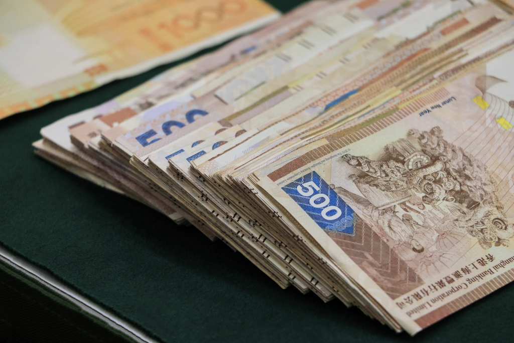 Variety of currencies and denominations