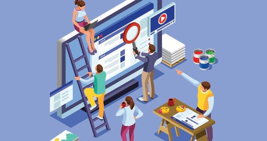 Website vendor creation process