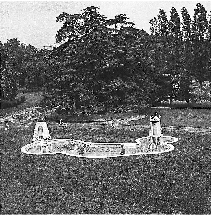 Fontana dei Bagni misteriosi - 1973