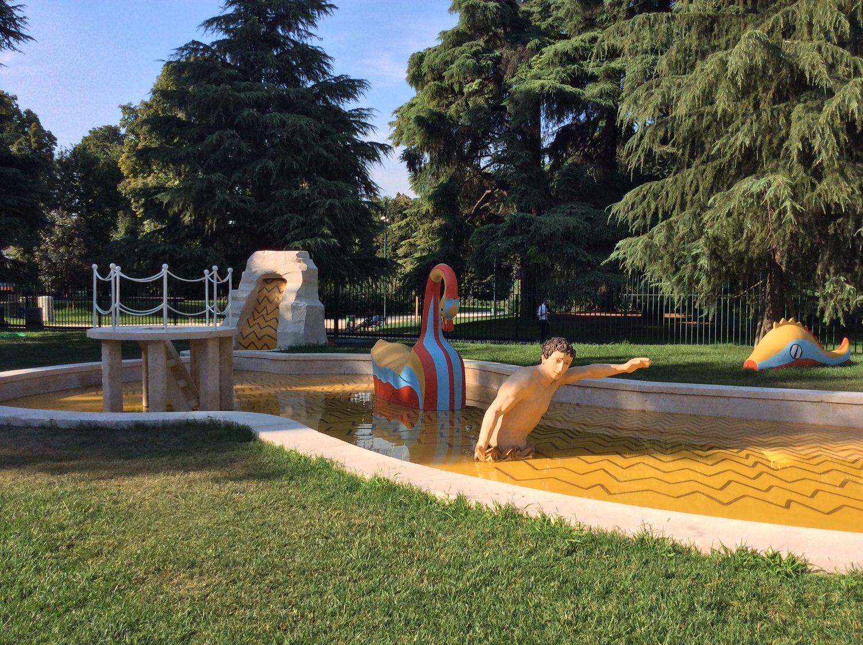 La Fontana dei Bagni Misteriosi di Giorgio de Chirico - Source: Arttribune