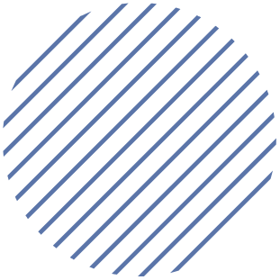 Homepage circle with lines