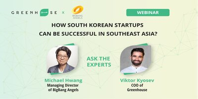 discussions about South Korean startups in Southeast Asia