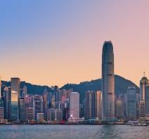 Country Selection Hong Kong