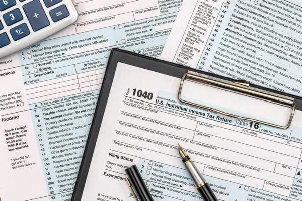 Service Card - Tax Filling