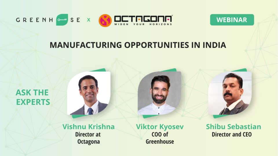 Manufacturing Opportunities in India