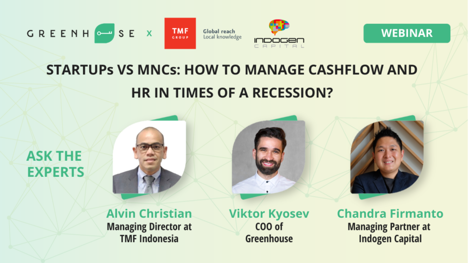 Startups VS MNCs: How to manage cashflow and HR in times of a recession?