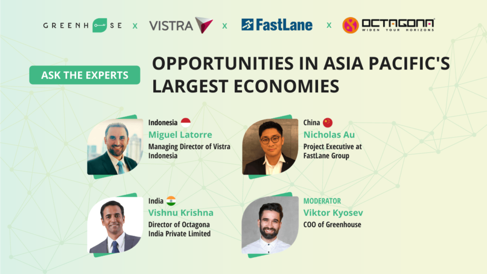 Opportunities in Asia Pacific's Largest Economies: India, China and Indonesia