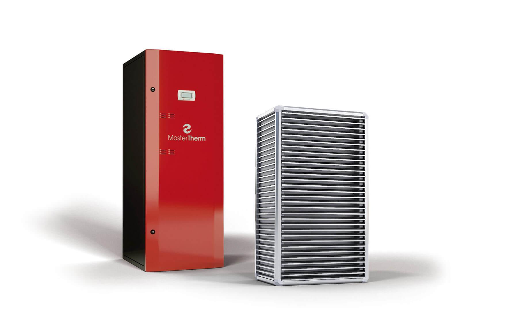 Tepelné čerpadlo vzduch-voda BoxAir Inverter Split Combi