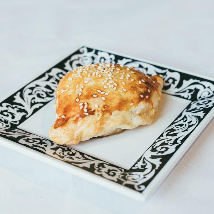 Uyghur butter naan