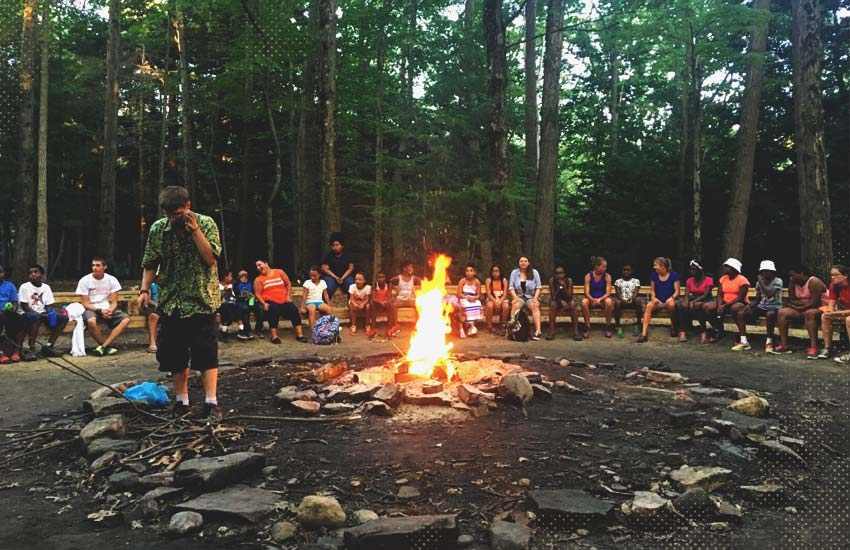 Footpath Foundation's first campfire.