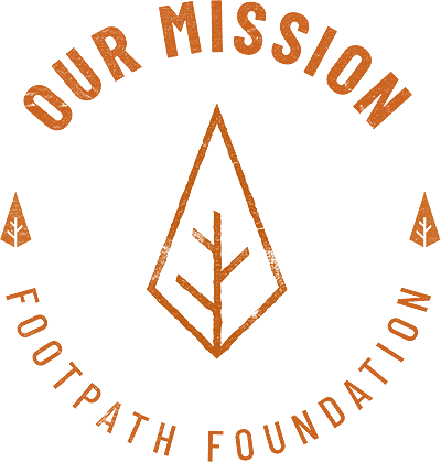 Footpath Our MissionBadge