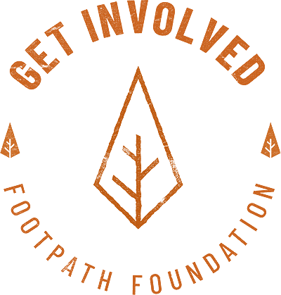 Footpath Get Involved Badge
