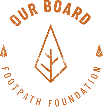 Footpath Our Board Badge