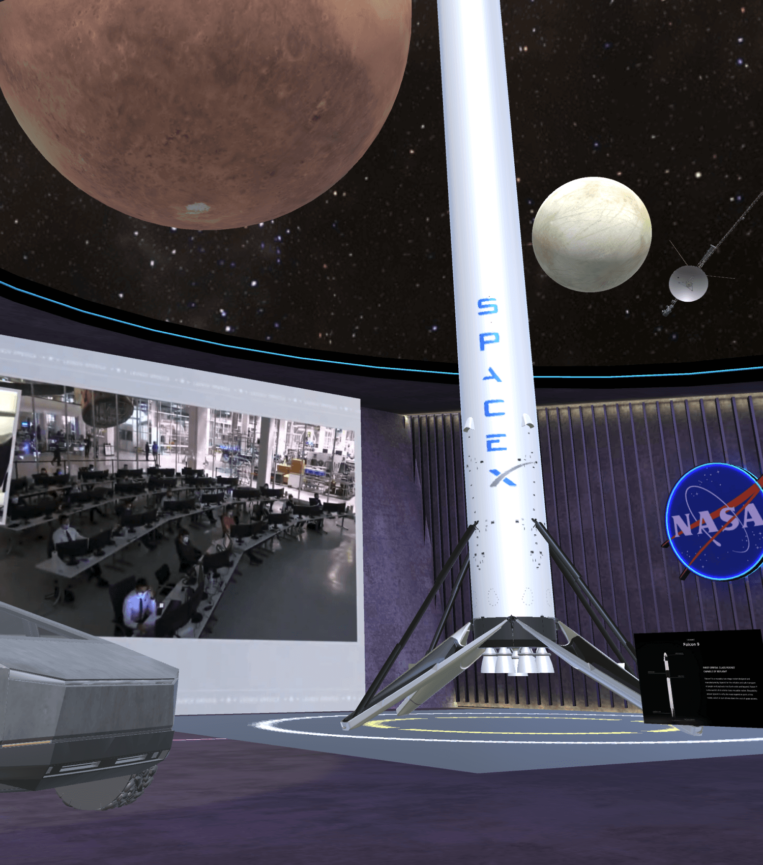 SpaceX in Spatial