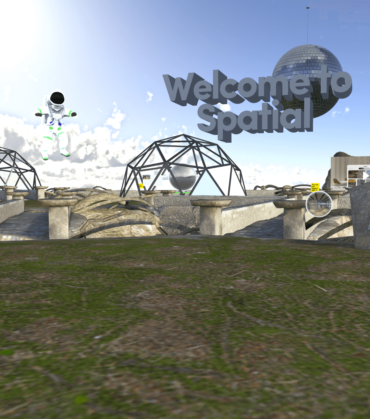Portal Playground in Spatial