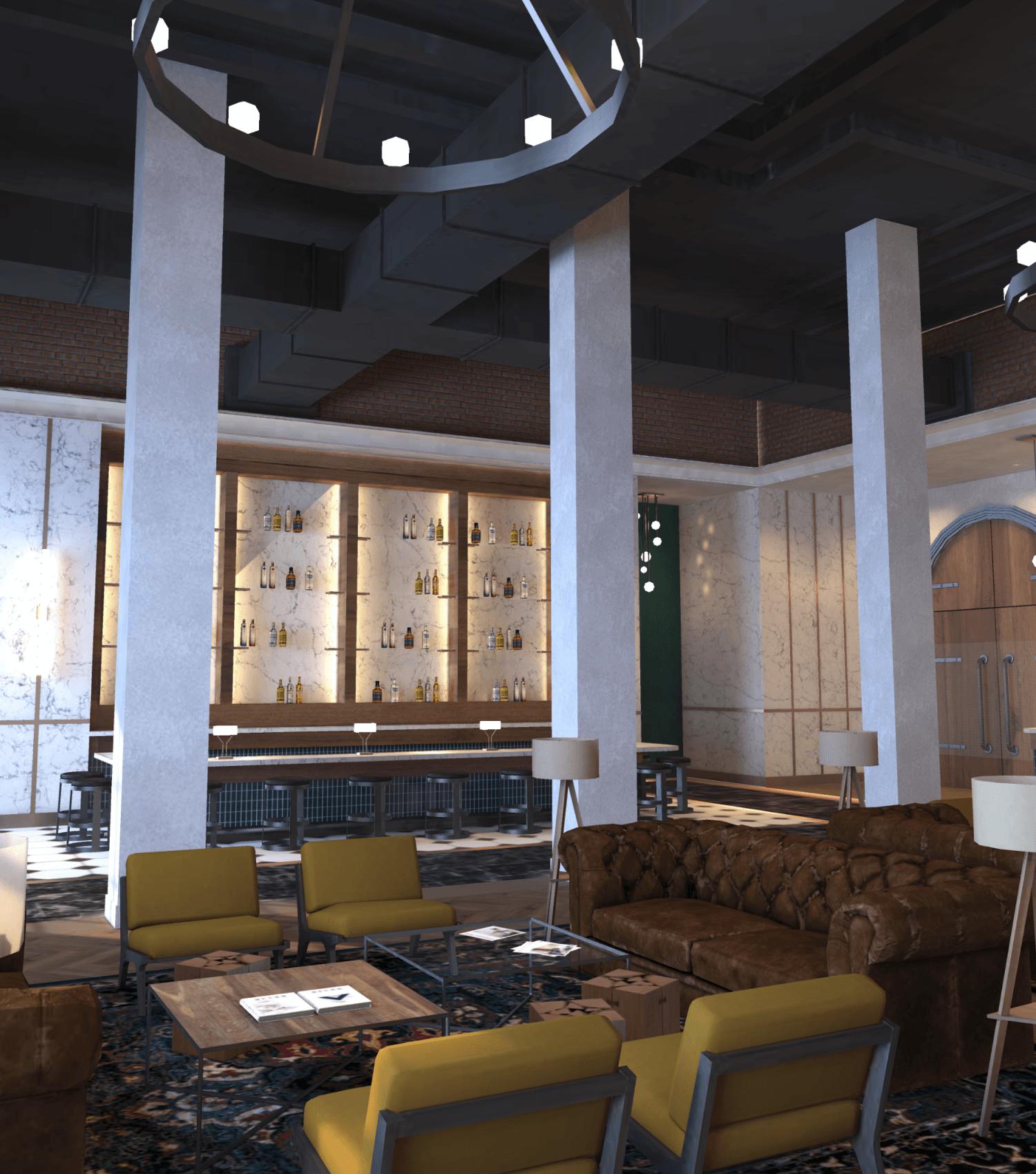 Coffee Bar in Spatial by M2 Studios