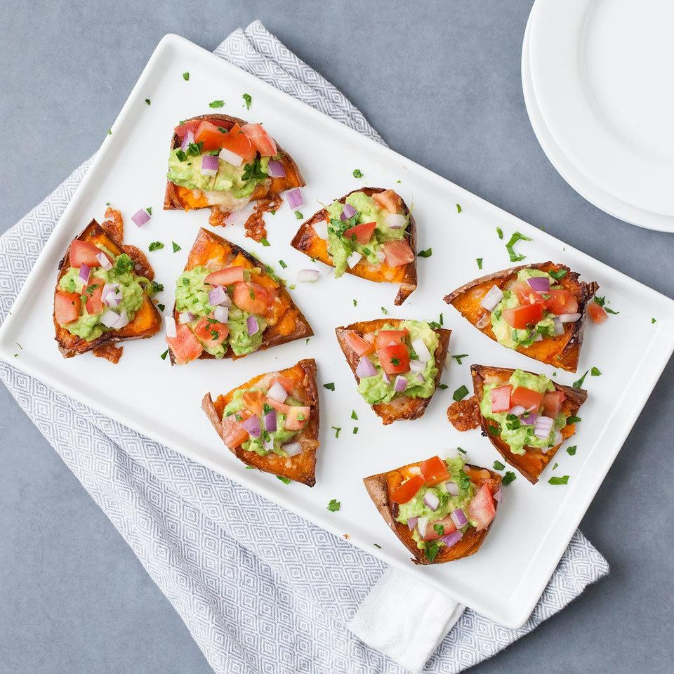 Macro Monday - Sweet Potato Skins with Guacamole - IIFYM