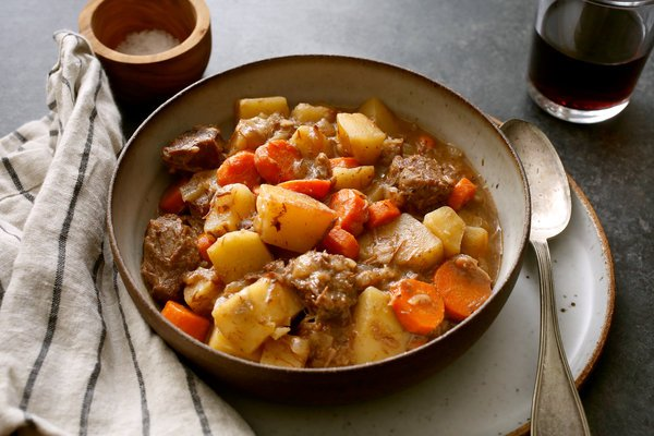 Old Fashioned Beef Stew in the CrossFit Soda City Macro Monday