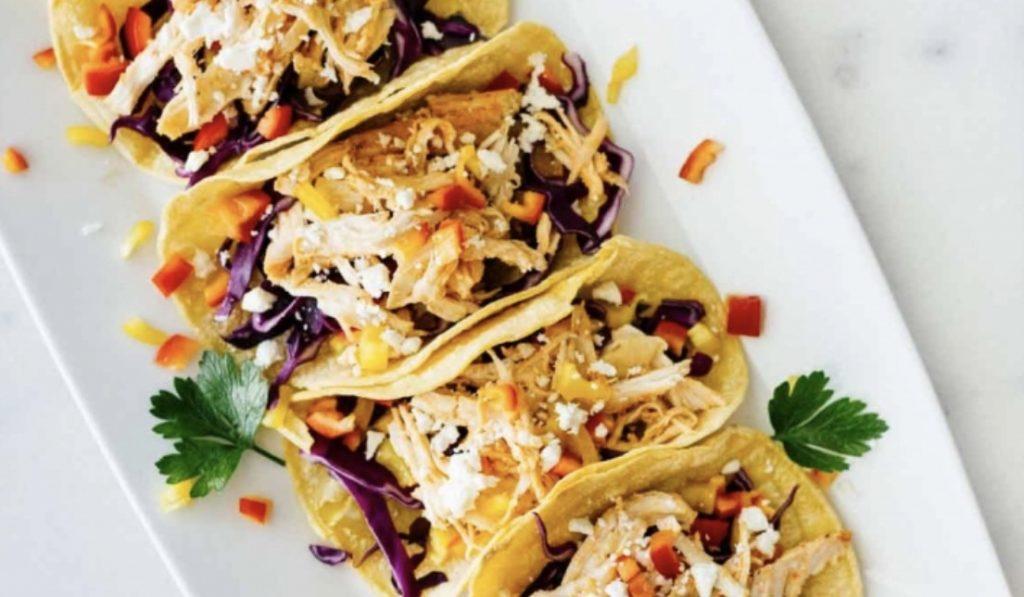 Macro Monday - Sriracha Shredded Chicken Tacos - IIFYM