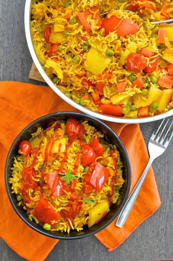 CrossFit Soda City Macro Monday Spicy Vegetable Rice IIFYM