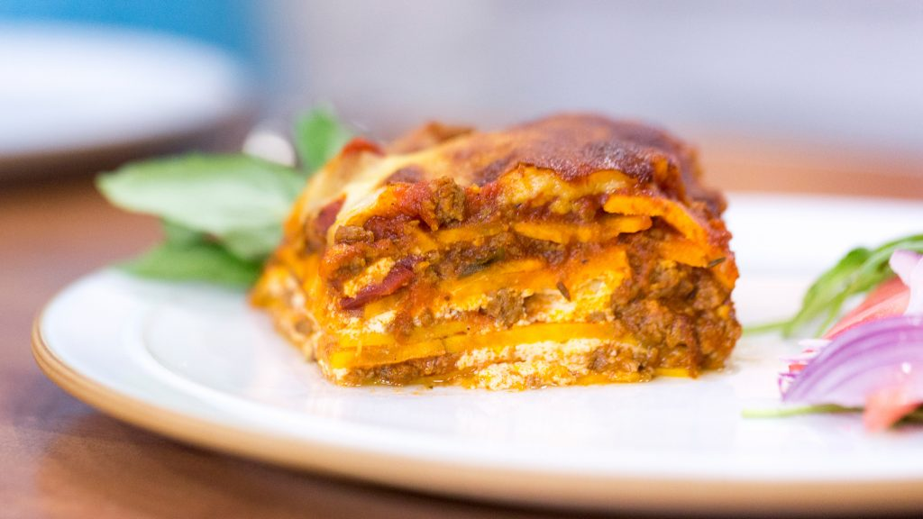 CrossFit Soda City Macro Monday, Sweet Potato Lasagna, IIFYM