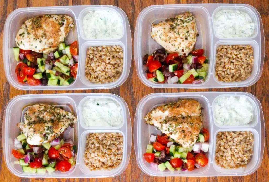 Greek Chicken Meal Prep Bowl Macro Monday IIFYM CrossFit Soda City