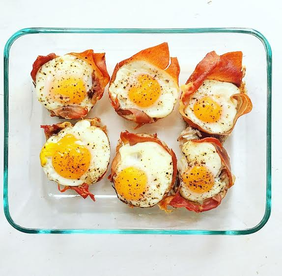 CrossFit Soda City Macro Monday Recipe: Prosciutto Egg Cups - IIFYM
