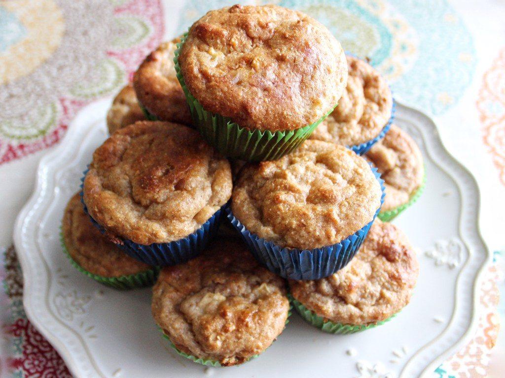 CrossFit Soda City Macro Monday Recipe - Apple Cinnamon Protein Muffins