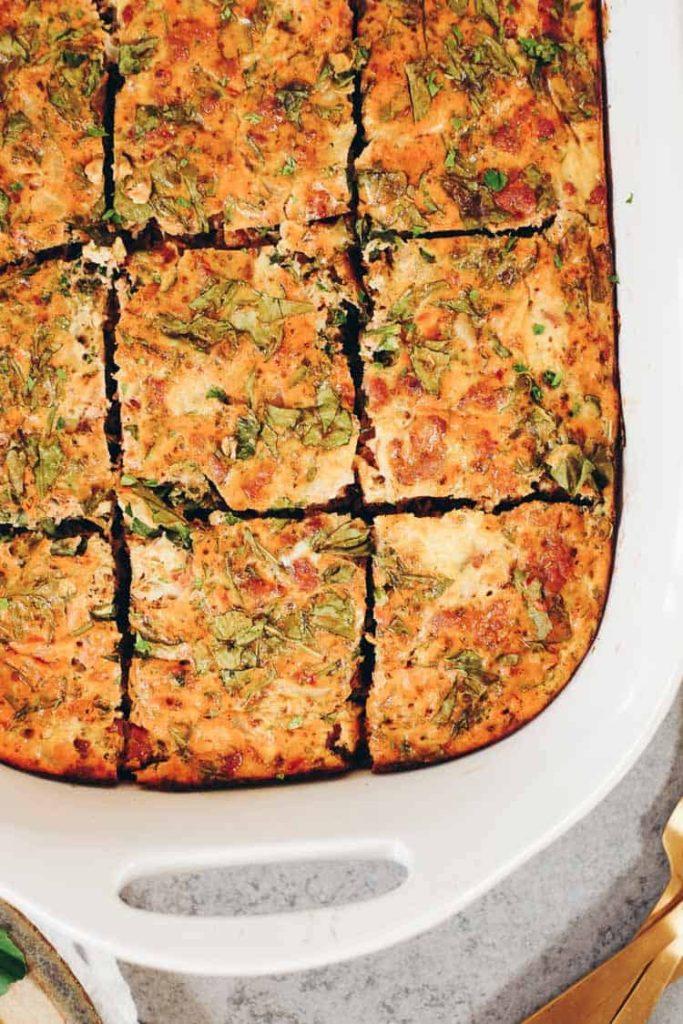 CrossFit Soda City Macro Monday Recipe - Breakfast Pizza Casserole