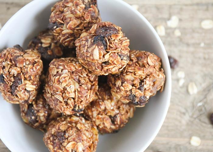 CrossFit Soda City Macro Monday Recipe No-Bake Oatmeal Energy Bites