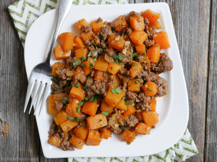 CrossFit Soda City Macro Monday Recipe Spicy Beef and Butternut Squash