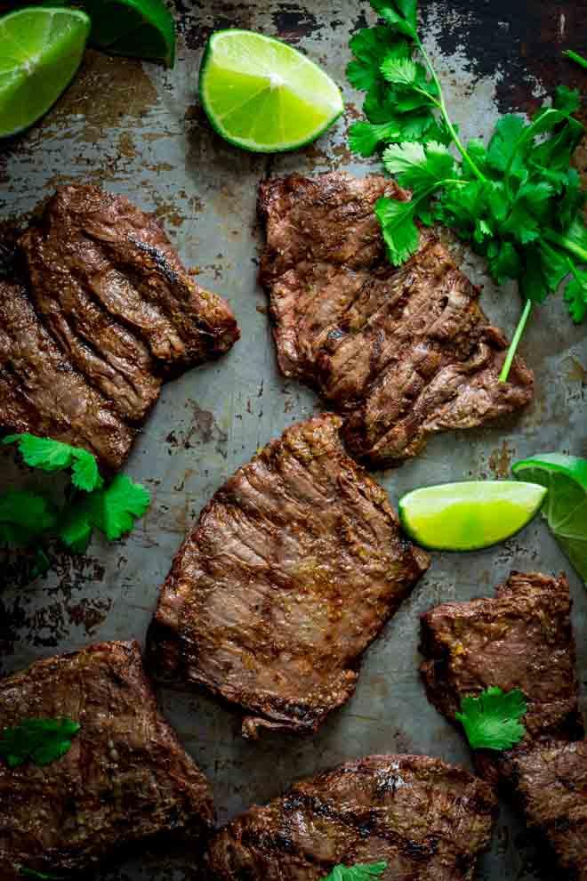 CrossFit Soda City Macro Monday Recipe Grilled Thai Coconut Lime Skirt Steak