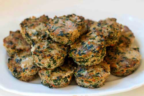 CrossFit Soda City Macro Monday Recipe - Turkey Spinach Meatloaf Muffins