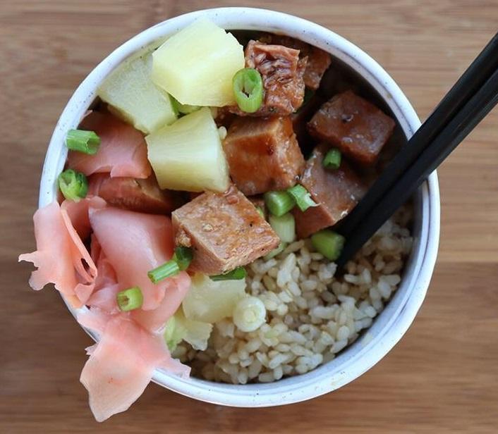 CrossFit Soda City Macro Monday Recipe - Homemade Poke Bowls