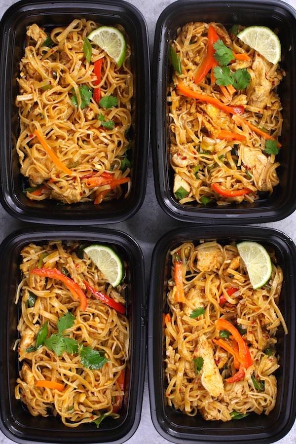 CrossFit Soda City Macro Monday Recipe - Chicken Pad Thai