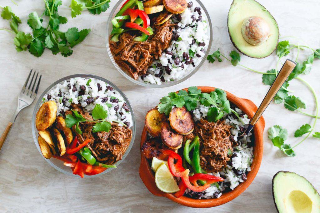 CrossFit Soda City Macro Monday Recipe - Mexican Shredded Beef Bowls