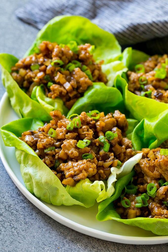 CrossFit Soda City Macro Monday Recipe - Chicken Lettuce Wraps