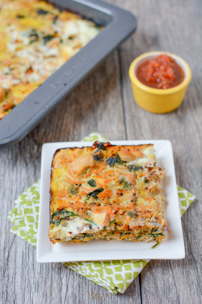 CrossFit Soda City Macro Monday Recipe - Protein-Packed Breakfast Bake With Chicken