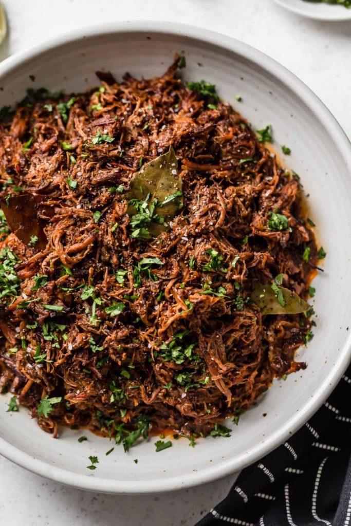 CrossFit Soda City Macro Monday Recipe - Slow Cooker Beef Barbacoa