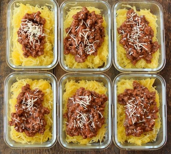 CrossFit Soda City Macro Monday Recipe - Spaghetti Squash Bolognese