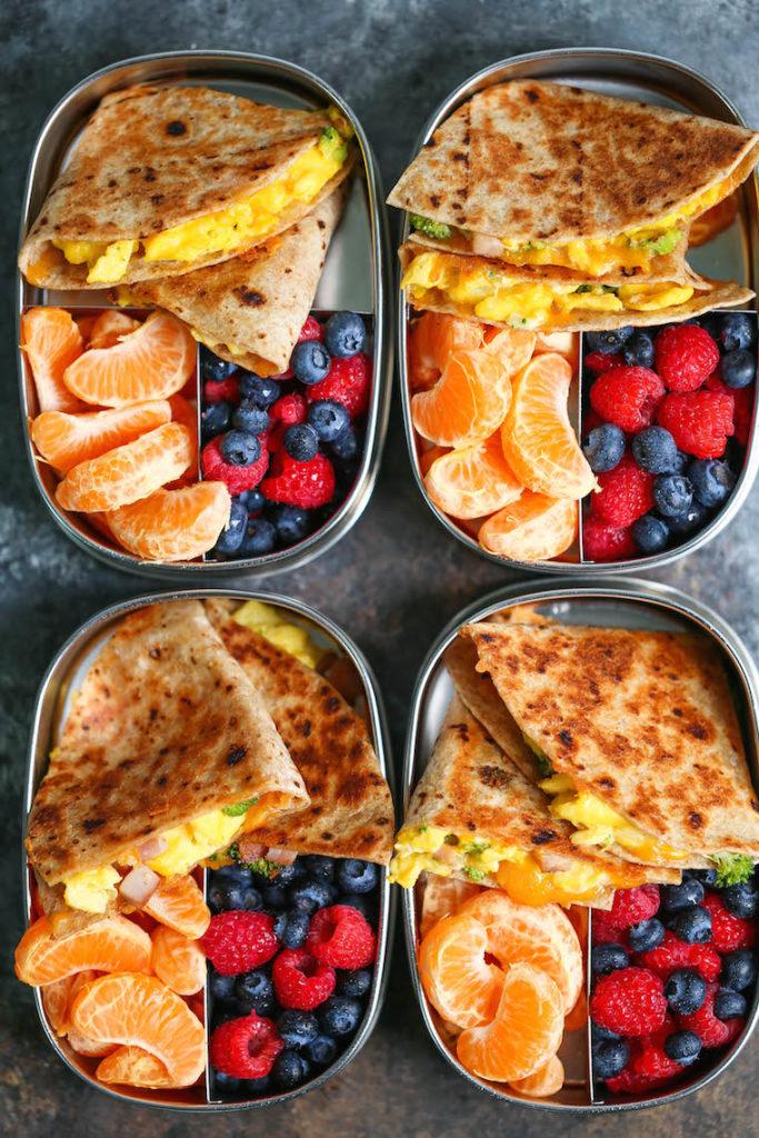 CrossFit Soda City Macro Monday Recipe - Breakfast Quesadillas