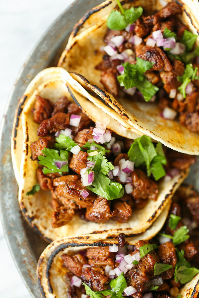 CrossFit Soda City Macro Monday Recipe - Carne Asada Street Tacos