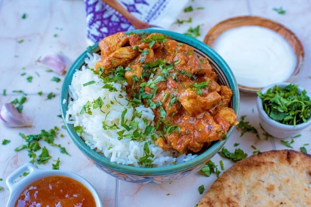 CrossFit Soda City Macro Monday Recipe - Tomato Garlic Chicken Curry